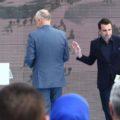 """PREZANTOHET PROJEKTI PER SHESHIN SKENDERBEJ - Kryeministri Edi Rama dhe Kryetari i Bashkise se Tiranes, Erion Veliaj, gjate prezantimit te projektit per ndertimin e """"Sheshit Skenderbej"""", ne Tirane./r/n/r/nPRESENTATION OF PROJECT FOR SKENDERBEG SQUARE - Prime Minister Edi Rama and Tirana's Mayor, Erion Veliaj, during the presentation of the project for the construction of """"Skanderbeg Square"""", in Tirana."""