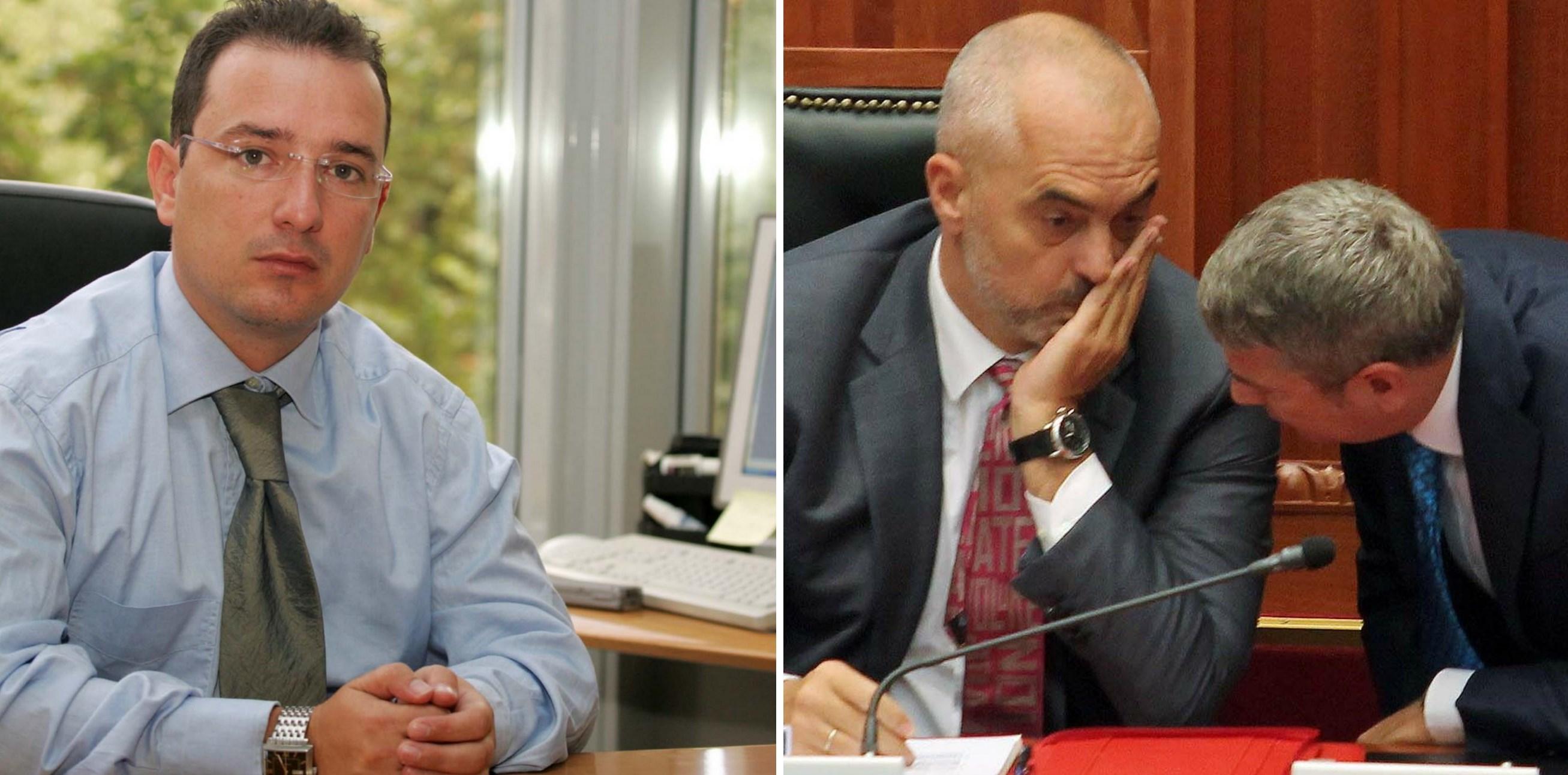 Endri Puka, Edi Rama, Damian Gjiknuri