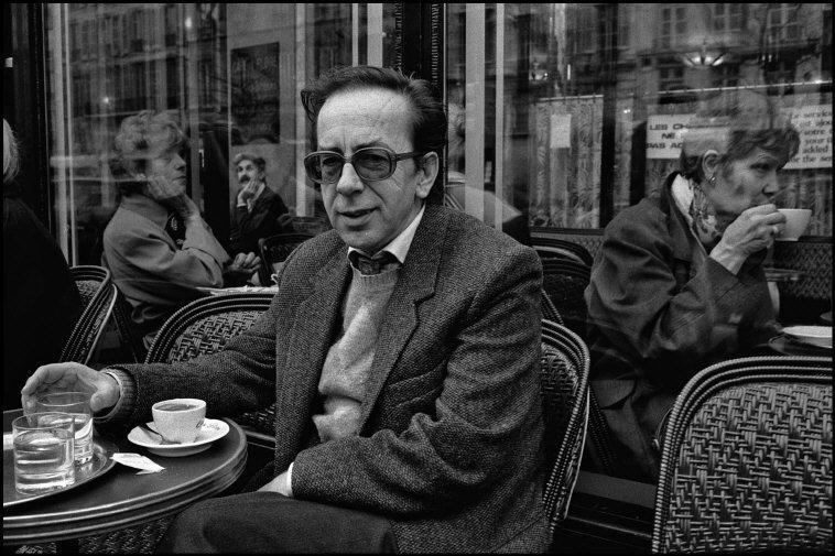 France.  Paris.  Ismail Kadare